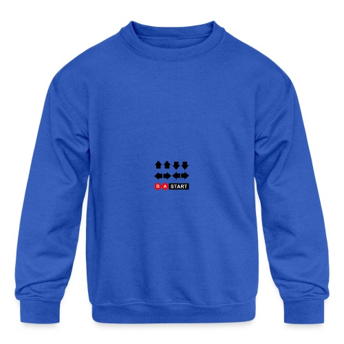 Contra Code Full Color Mug - Kids' Crewneck Sweatshirt