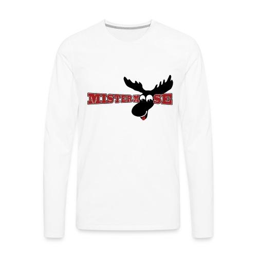 Mistermoose Lightweight Hoodie - Men's Premium Long Sleeve T-Shirt