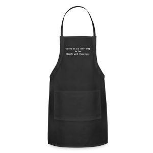 There's No One Way Scoopneck - Adjustable Apron