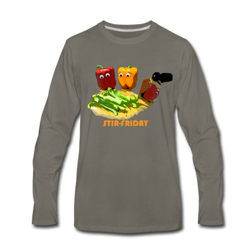 Stir-Friday - Men's Premium Long Sleeve T-Shirt