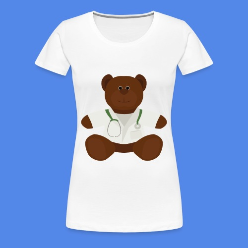 Dr Teddy bear  - Women's Premium T-Shirt
