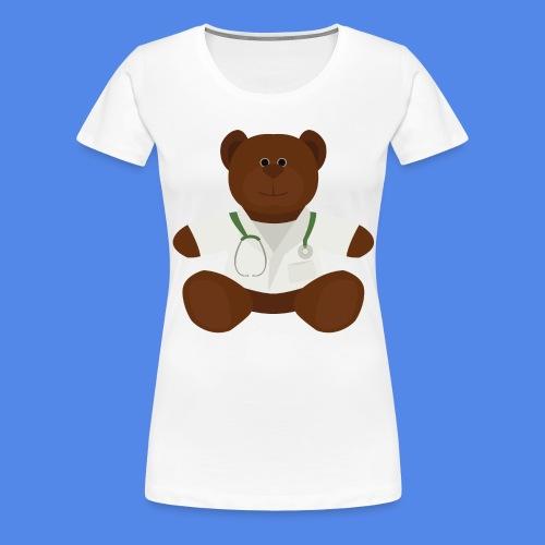 Dr Teddy bear  - Women's Premium T-Shirt