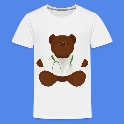 Dr Teddy bear  - Kids' Premium T-Shirt