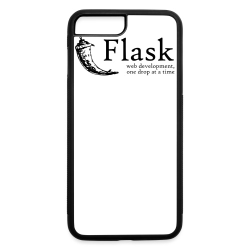 Flask Web Framework - iPhone 7 Plus/8 Plus Rubber Case
