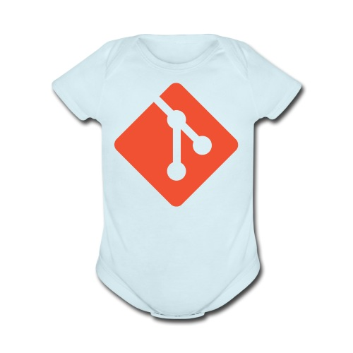 Git Shirt - Short Sleeve Baby Bodysuit