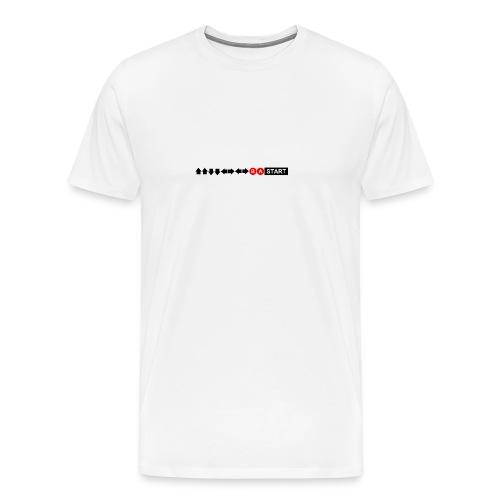 Contra Code Horizontal Design Mug - Men's Premium T-Shirt