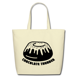 Chocolate Thunder - Eco-Friendly Cotton Tote