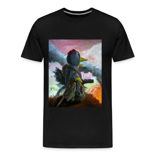 Battle at Thunder Beak - Men's Premium T-Shirt