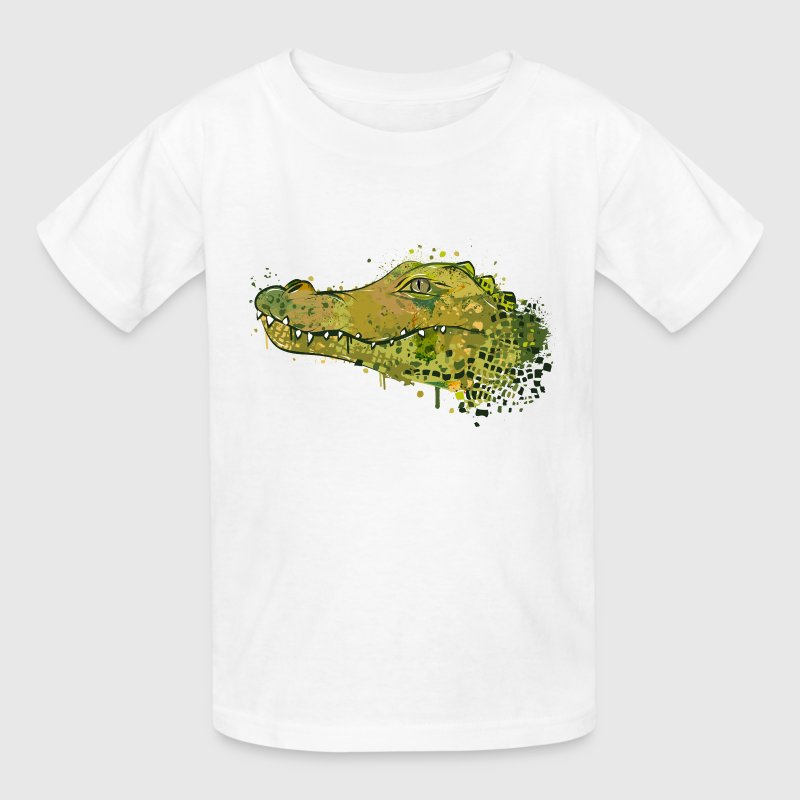 Crocodile Graffiti Kids' Shirts - Kids' T-Shirt
