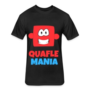 Quafle Mania: Red Quafle Men T-Shirt - Fitted Cotton/Poly T-Shirt by Next Level