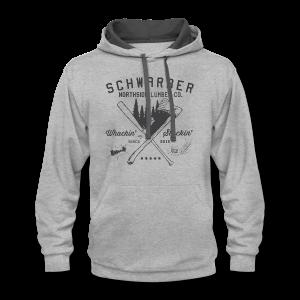 Schwarber Lumber Co - Contrast Hoodie