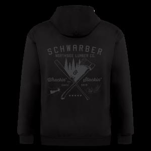 Schwarber Lumber Co - Men's Zip Hoodie