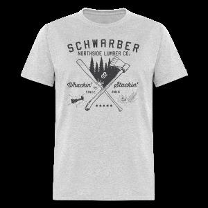 Schwarber Lumber Co - Men's T-Shirt