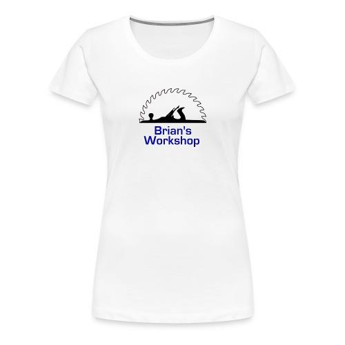 Brian's Workshop Logo T-Shirt - Women's Premium T-Shirt