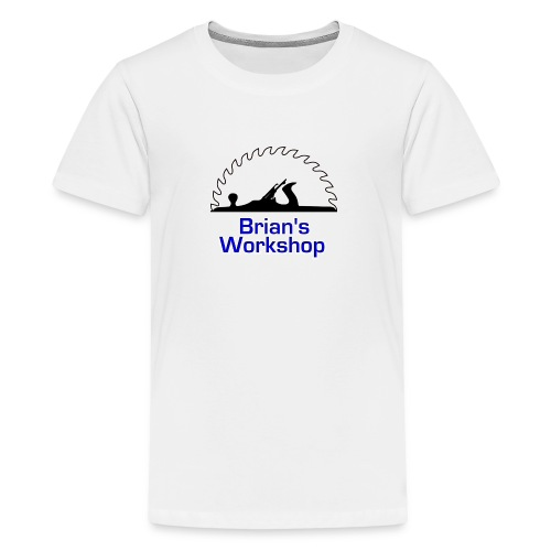 Brian's Workshop Logo T-Shirt - Kids' Premium T-Shirt