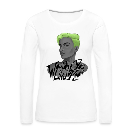 Wouldn't you like to know? - Women's Premium Long Sleeve T-Shirt