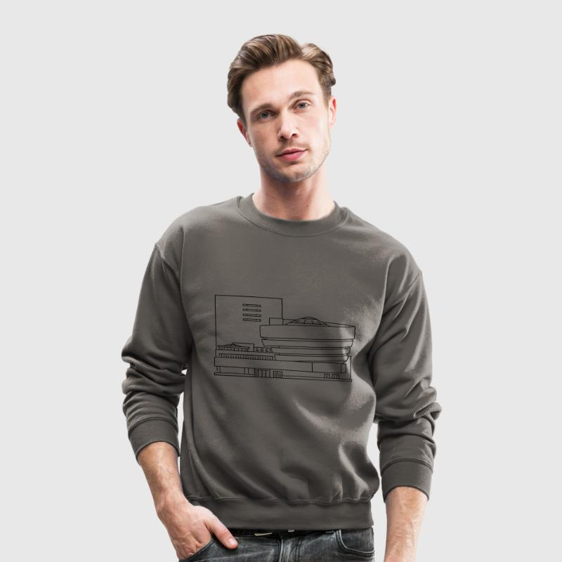 The Guggenheim New York Long Sleeve Shirts - Crewneck Sweatshirt