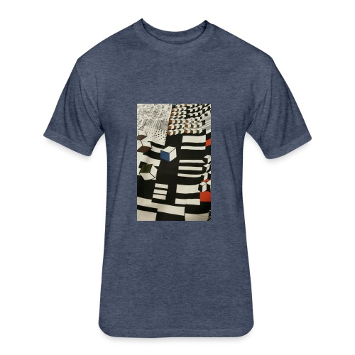 Urban Cubist - Toddler - Fitted Cotton/Poly T-Shirt by Next Level