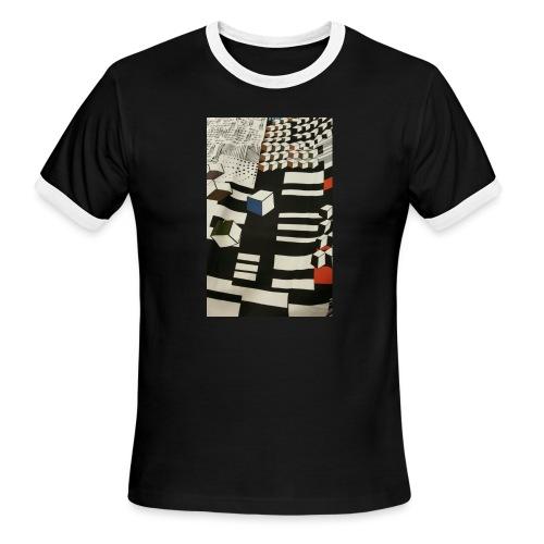 Urban Cubist - Toddler - Men's Ringer T-Shirt
