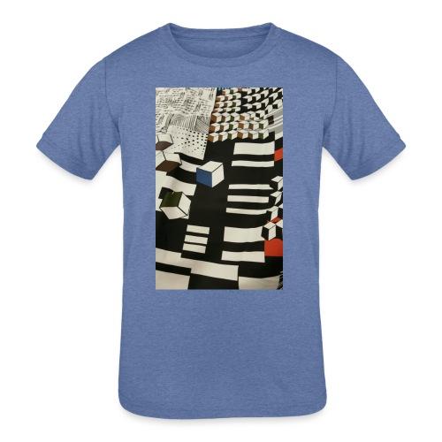 Urban Cubist - Toddler - Kids' Tri-Blend T-Shirt