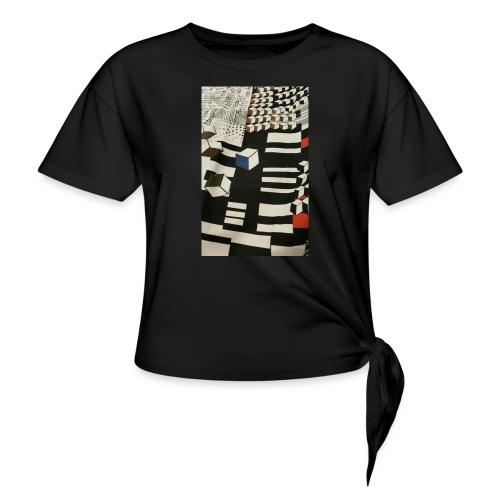 Urban Cubist - Toddler - Women's Knotted T-Shirt