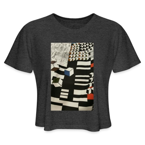 Urban Cubist - Toddler - Women's Cropped T-Shirt