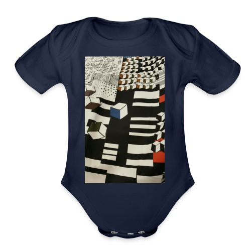 Urban Cubist - Toddler - Organic Short Sleeve Baby Bodysuit