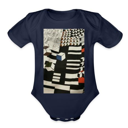 Urban Cubist - Toddler - Organic Short Sleeve Baby Bodysuit