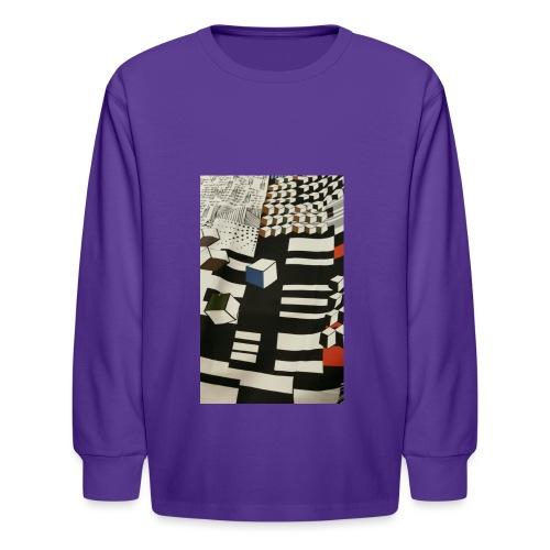 Urban Cubist - Toddler - Kids' Long Sleeve T-Shirt
