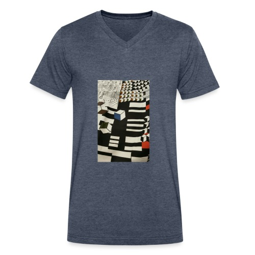 Urban Cubist - Toddler - Men's V-Neck T-Shirt by Canvas