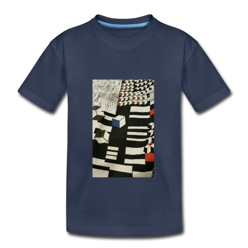 Urban Cubist - Toddler - Kids' Premium T-Shirt