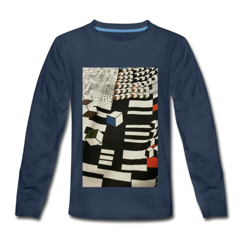 Urban Cubist - Toddler - Kids' Premium Long Sleeve T-Shirt
