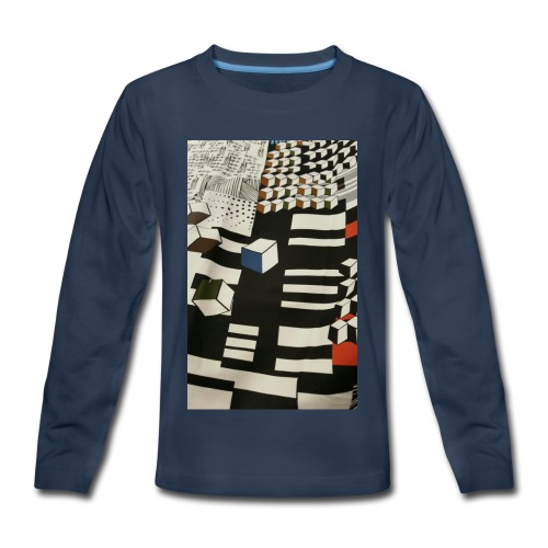 Urban Cubist - Toddler - Kids' Premium Long Sleeve T-Shirt