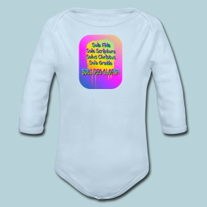 The Five Solas - Long Sleeve Baby Bodysuit