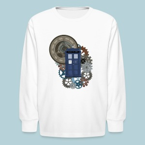 Traveling through Time 2 - Kids' Long Sleeve T-Shirt