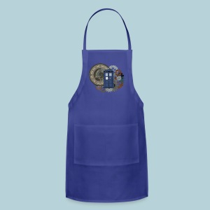 Traveling through Time - Adjustable Apron
