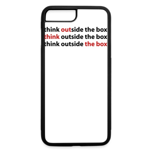 Out Think The Box - iPhone 7 Plus/8 Plus Rubber Case