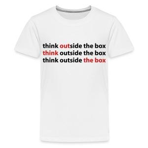 Out Think The Box - Kids' Premium T-Shirt