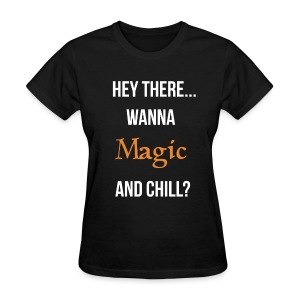 Magic and chill woman's (white) - Women's T-Shirt