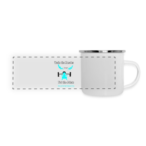 Train the Muscles, Not the Joints Zip Up Hoodie.  - Panoramic Camper Mug