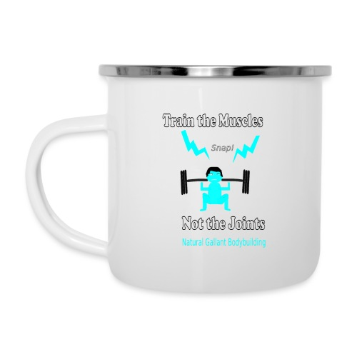 Train the Muscles, Not the Joints Zip Up Hoodie.  - Camper Mug
