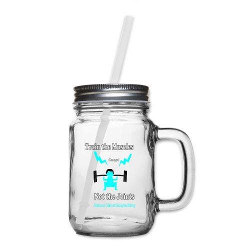 Train the Muscles, Not the Joints Zip Up Hoodie.  - Mason Jar