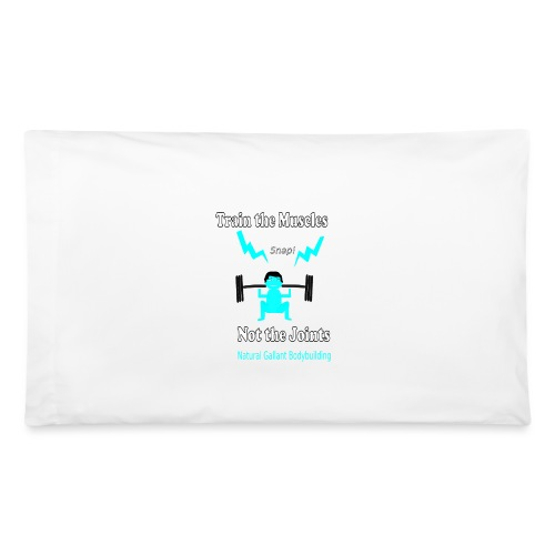 Train the Muscles, Not the Joints Zip Up Hoodie.  - Pillowcase 32'' x 20''