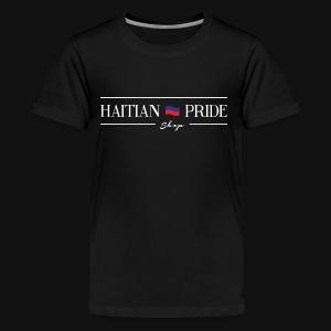 Haitian Pride Shop Mens T-Shirt (Black) - Kids' Premium T-Shirt