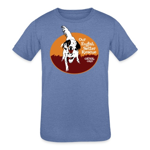 Women's OESR Tri-color Setter Shirt - new for 2016 - Kids' Tri-Blend T-Shirt