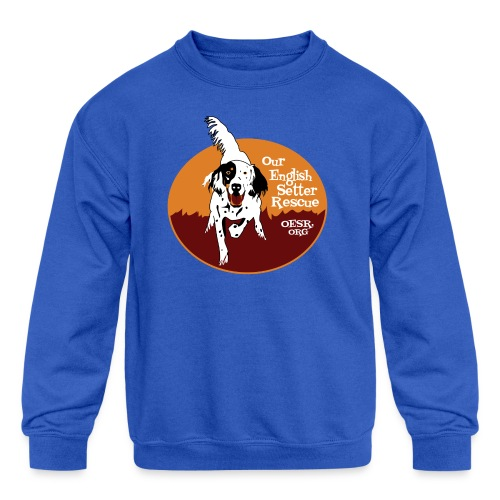 Women's OESR Tri-color Setter Shirt - new for 2016 - Kids' Crewneck Sweatshirt