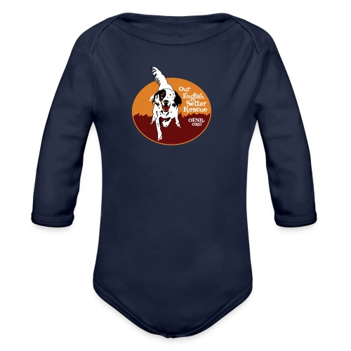 Women's OESR Tri-color Setter Shirt - new for 2016 - Organic Long Sleeve Baby Bodysuit
