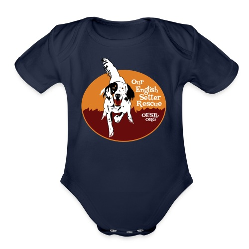 Women's OESR Tri-color Setter Shirt - new for 2016 - Organic Short Sleeve Baby Bodysuit