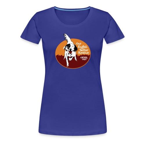 Women's OESR Tri-color Setter Shirt - new for 2016 - Women's Premium T-Shirt