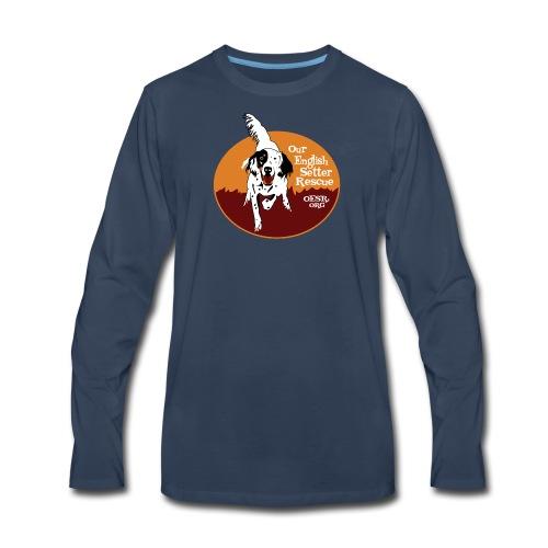 Women's OESR Tri-color Setter Shirt - new for 2016 - Men's Premium Long Sleeve T-Shirt